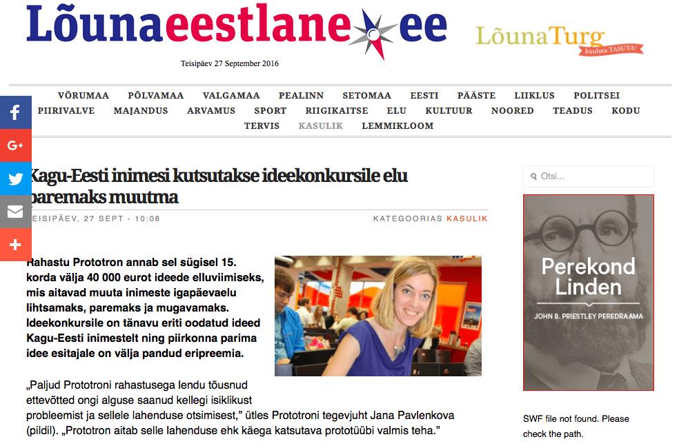 Kagu-Eesti inimesi kutsutakse ideekonkursile elu paremaks muutma