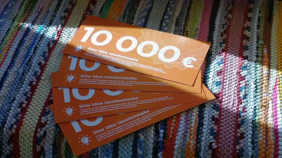 Jõukuul selgub kelle idee on väärt 10 000 euro suurust rahastust
