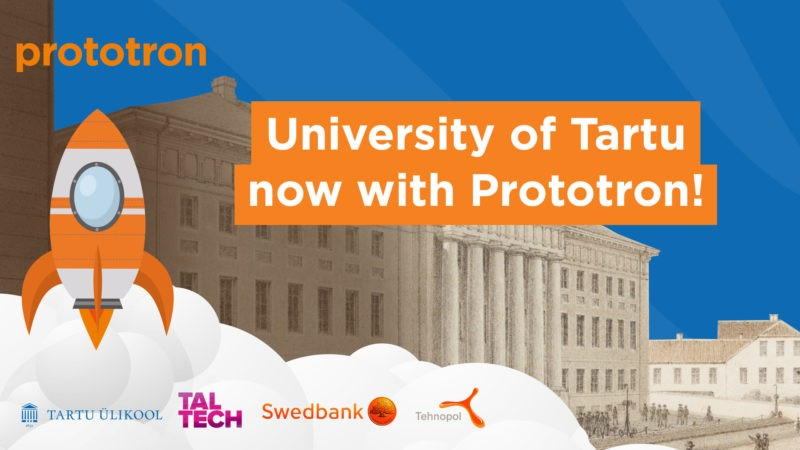 The University of Tartu joins Prototron